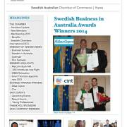 Swedelink Newsletter March 2015 front page