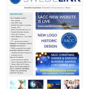 Swedelink Newsletter Spring 2015 front page