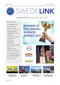 SWEDELINK Newsletter Summer 2015-16.compressed
