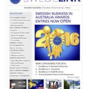 SWEDELINK Newsletter Winter 2016coverpic